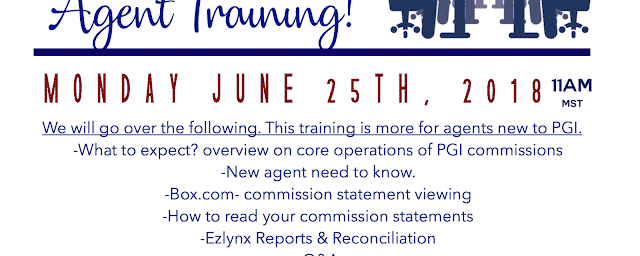 06/19/2018 Commissions New Agent Training