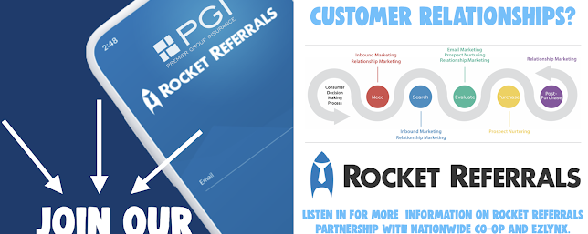9/28/2020 – 🚀Interested in Automatically Improving Customer Relationships? Join our webinar event with ROCKET REFERRALS on October 6th, 2020!
